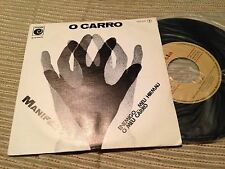 "O CARRO SPANISH 7"" SINGLE SPAIN MANIFESTO - FOLK - NOVOLA 77"