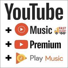 UTube-Premium 12 meses en la cuenta nueva o existente-Entrega Rápida en todo el mundo