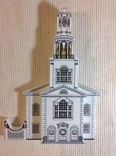 Shelia's Collectibles - Old First Church, Bennington, Vt,-Signed/numbered/Ap