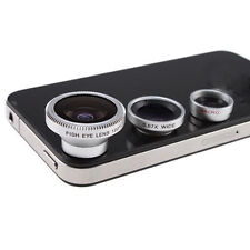 3 In 1 Camera Lens Kit Designed For Apple iPhone 4 4S iPad