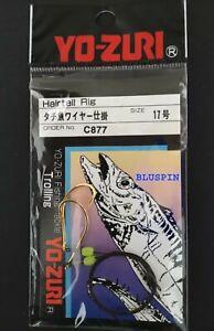Yo-zuri Hairtail Rig 2 Ami con cavetto (26cm) e Perlina Glow Cod: C877 Size: 17