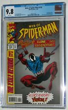 Web of Spider-Man #118 CGC (not CBCS) NM/MT 9.8 1st Ben Reilly as Scarlet Spider
