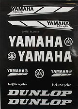 YAMAHA Decal Sticker ATV Motorcycle Dirt Bike CRF TTR YZF ATC BLACK I DE23