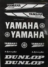 YAMAHA Decal Sticker ATV Motorcycle Dirt Bike CRF TTR YZF ATC BLACK V DE23