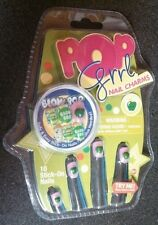 Pop Grrl Nail Charms - 10 Apple Scented Stick on Nails *NIP* Blow Pop