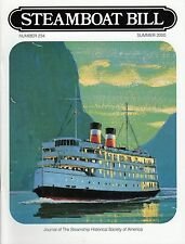"""#234 """"Preserving QUEEN MARY"""" -""""Steamboat Bill"""" summer 2000-SSHSA MAILS WORLDWIDE"""