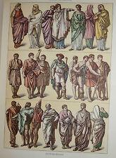 Moda Società Vita Italiana, M. Vocino: Storia del Costume 1961 Poligrafico
