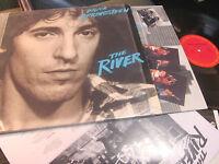 Bruce Springsteen The River 2 LP original ex 1980 w/lyric insert the boss rare!!