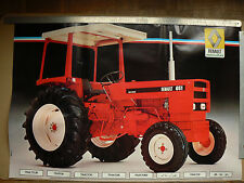 Affiche Ancienne Tracteur RENAULT  651 poster  tractor traktor trattore