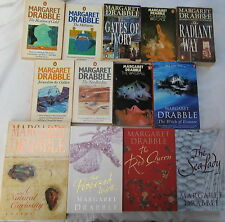 MARGARET DRABBLE -13 of her CLASSIC NOVELS - The MILLSTONE,A SUMMER BIRD-CAGE+++