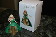 2011 Hallmark Celebration Barbie series Holiday Doll #12 xmas Keepsake Ornament