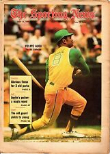 Sporting News 7/11/1970 Baseball magazine, Felipe Alou, Oakland A's ~ FAIR