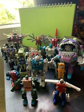 Beater Lot Of Vintage Transformers, Beast Wars, Go-Bots And Weapons