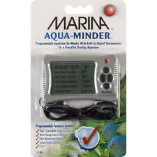 Marina Aqua-Minder - Programmable Aquarium Reminder w/ Digital Thermometer 11190