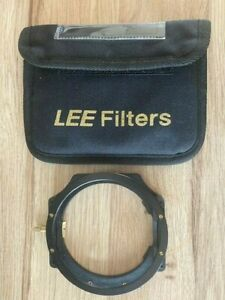 LEE Filters 100mm System Foundation Kit with Polariser Ring and pouch.