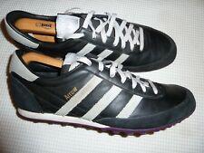 Mens ADIDAS Arrow Size: UK 10 / Eur 44.5 Black Leather /Grey/Silver.
