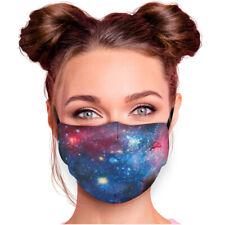Mund-Nasen-Bedeckung - Motiv - Weltall Galaxie