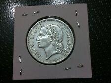 France 5 Francs, 1949-Composition: Aluminum !!!