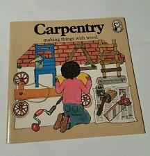 Carpentry 1976 puffin book