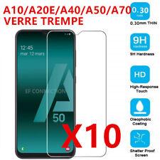 Samsung A20e A31 A41 A42 A51 A70 A10 Vitre protection film écran VERRE TREMPE