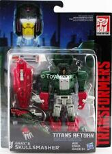 Transformers Generations Titans Return Deluxe Class Grax and Skullsmasher Figure