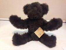 Vintage Near Mint Vermont Teddy Bear Co Bear Buns 1984 85 With Tag Plush Stuffed
