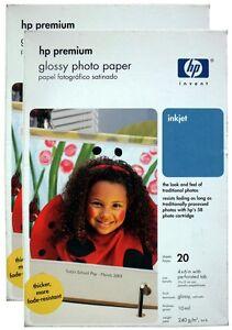 "HP Premium Glossy Photo Paper 70 Sheets 4 x 6"" 240gsm (Q1988A) Q8848-60001 10x15"