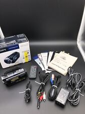 Sony Hdr-Cx500V 12.0Mp Hd 1080p 32Gb Flash Memory Handycam Camcorder G Lens Gps 00004000
