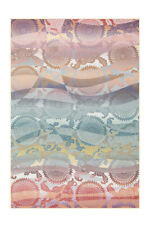 Arte Espina Tapis Retro Scandi design cercle motif coloré rose jaune 80x150cm