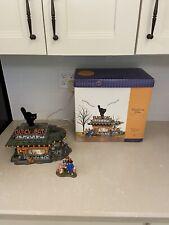 Dept 56 Halloween Black Cat Diner Please Read