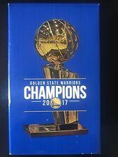 Golden State Warriors 2017 Championship Replica Trophy 11/6 Rakuten Curry Green