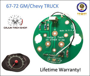 Tachometer Circuit Board - New! - 1967-72 GM/Chevy Trucks, C10,Blazer,Cheyenne
