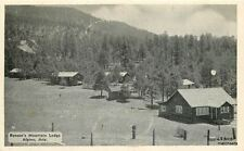 1940s ALPINE ARIZONA Benson's Mountain Lodge Western photos postcard 2467