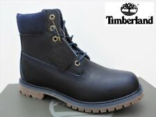 "Timberland 6"" Premium Waterproof Women's Boots Size US 9 (EU 40) Dark Blue"