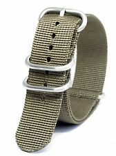 Praetorian® DiverTec Extrem Nato / Zulu Armband Khaki 22mm