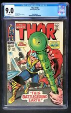 Thor #144 CGC 9.0 White Pages Marvel 1967 Stan Lee Story