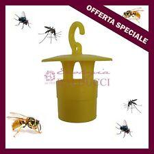 N°10 Trappola cromotropica bio per insetti:frutteti orti uliveti mosca ulivo