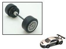Scalextric Spares W9120 Rear Axle Wheels Bearings Pinion /& Tyres Batmobile C2635