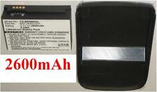 Custodia + Batteria 2600mAh Per BLACKBERRY Torch 9800 , BAT-26483-003 F-S1