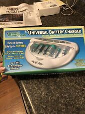 Green Solutions Universal Battery Charger for Aa Aaa D C 9 Volt New