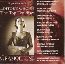 GRAMOPHONE  EDITORS CHOICE SEPT 2003 BRAND NEW STILL SEALED..