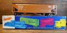 ROUNDHOUSE PROD. HO SCALE 3 BAY OFFSET HOPPER, BROWN BESSEMER B&LE #75527