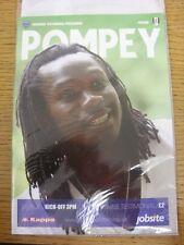 31/07/2010 Portsmouth v Fulham [Linvoy Primus Testimonial] .  This item is suppl