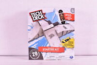 Tech Deck Starter Kit Ramp Set w/ Exclusive Board & Trainer Clips