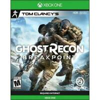 Ghost Recon Breakpoint (Xbox One) Brand New Sealed