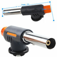 Flame Jet Gas Butane Blow Torch Burner Welding Solder Iron Soldering LighterHGUK