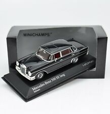 Minichamps 400035201 Mercedes Benz 300 SE lang Bj.1965 schwarz, 1:43 , OVP, K088