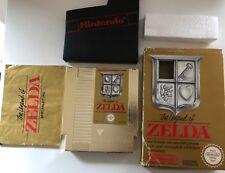 Zelda Nintendo NES Spiel - The Legend of Zelda mit Anleitung in OVP, Link