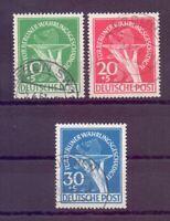Berlin 1949 - Währungsgesch. - MiNr. 68/70 gestempelt - Michel 600,00 € (180)