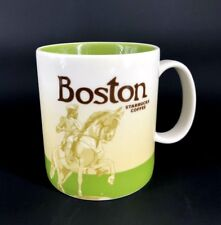 Starbucks Coffee Collector Series 2009 BOSTON Mug Cup 16 oz Paul Revere
